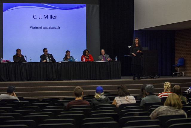 Panel held at Delta to combat sexual assault