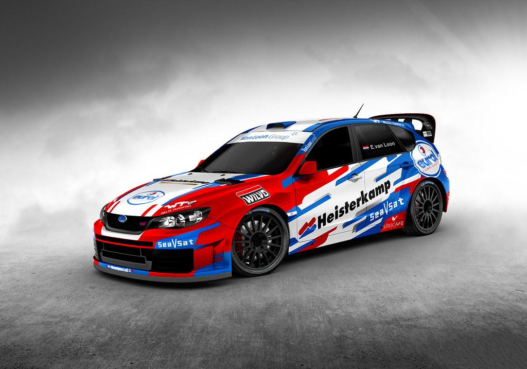 Van Loon met de Subaru WRC terug op de Nederlandse rallypaden
