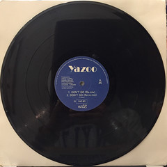 YAZOO:DON'T GO(RECORD SIDE-A)