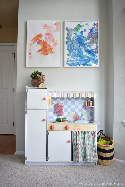 Kitchen Wall in Playroom