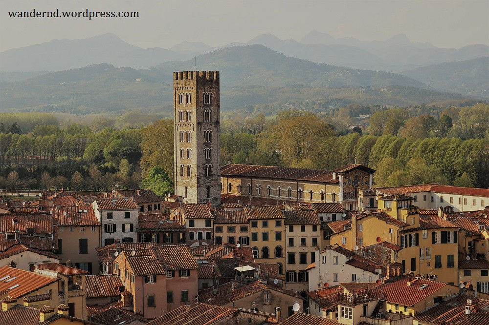 Lucca Ausblick San Frediano