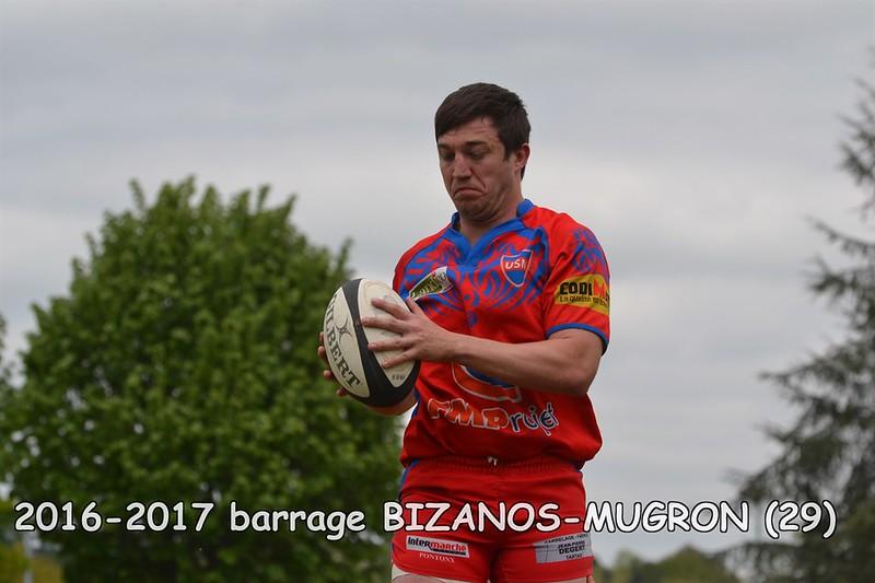 2016-2017 SENIORS 1 BARRAGE BIZANOS-MUGRON