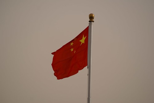 Chinese flag in Tiananmen Square, Beijing | by Ju1ian