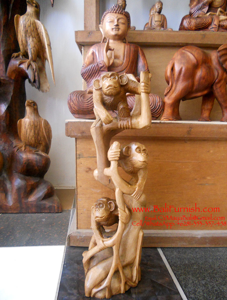 Bali wood carvings wooden carvings from bali indonesia. bau2026 flickr