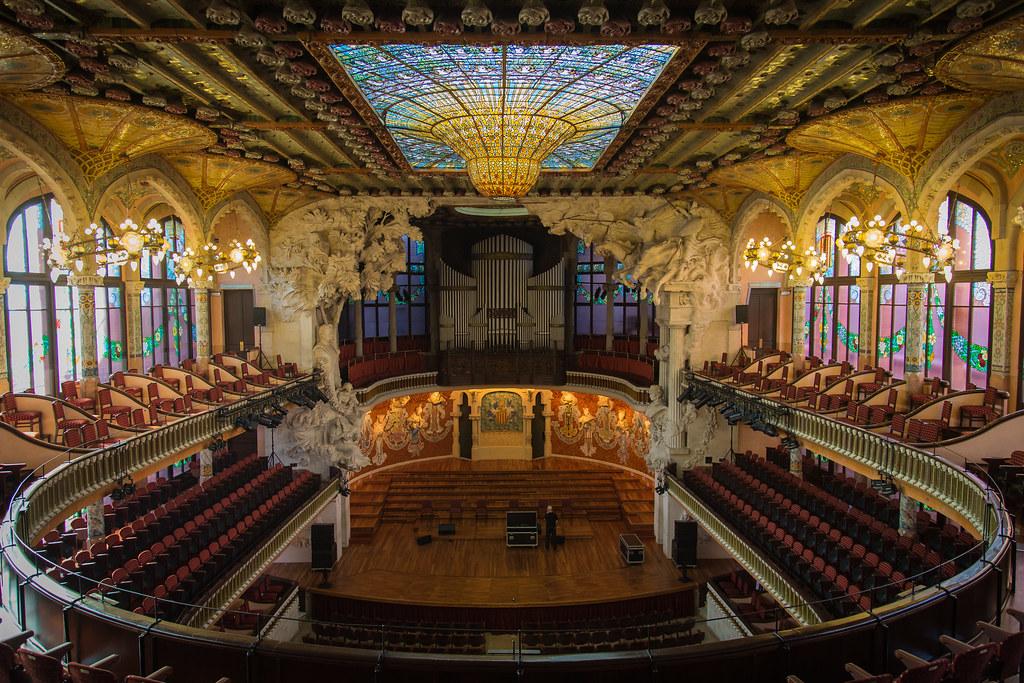 Palau de la m sica orfe catal barcelona paulo valdivieso flickr - Casas de musica en barcelona ...