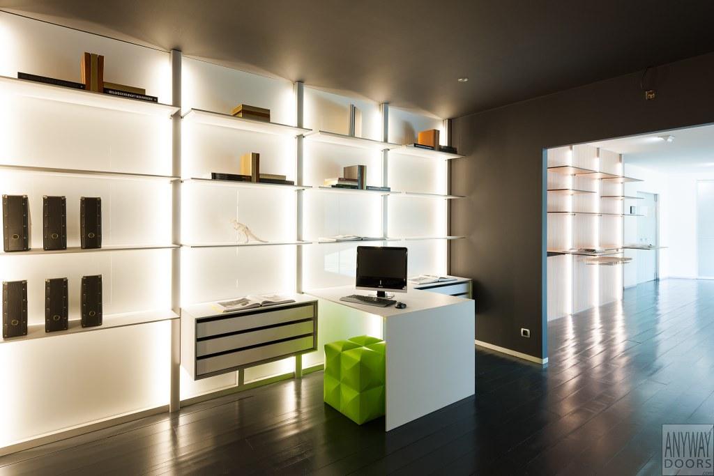 Moderne bureau met modulaire inrichting anyway doors flickr