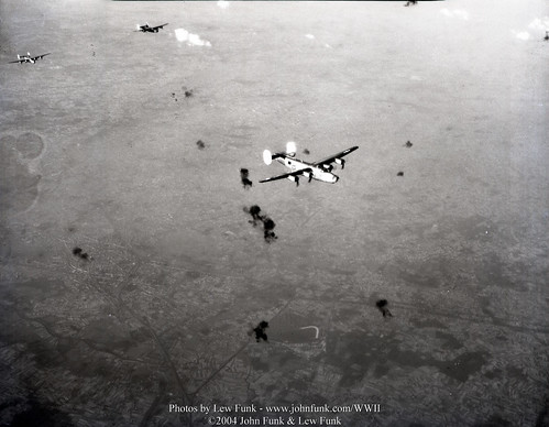 B24's on Mission to Brussels Belgium 3 Aug 1944 | by John Funk from Golden Colorado