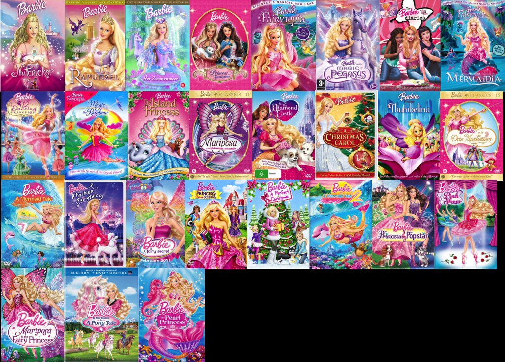 A Complete List Of Barbie Movies