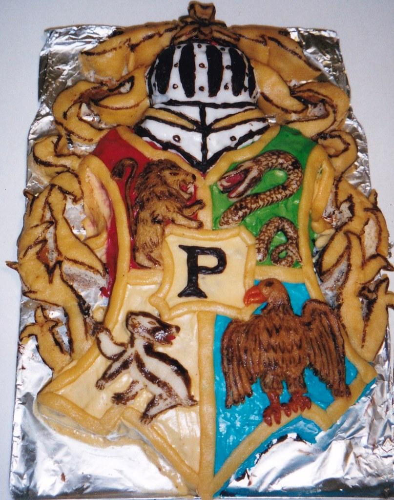 Blason De Poudlard Harry Potter Revesacroquer Flickr