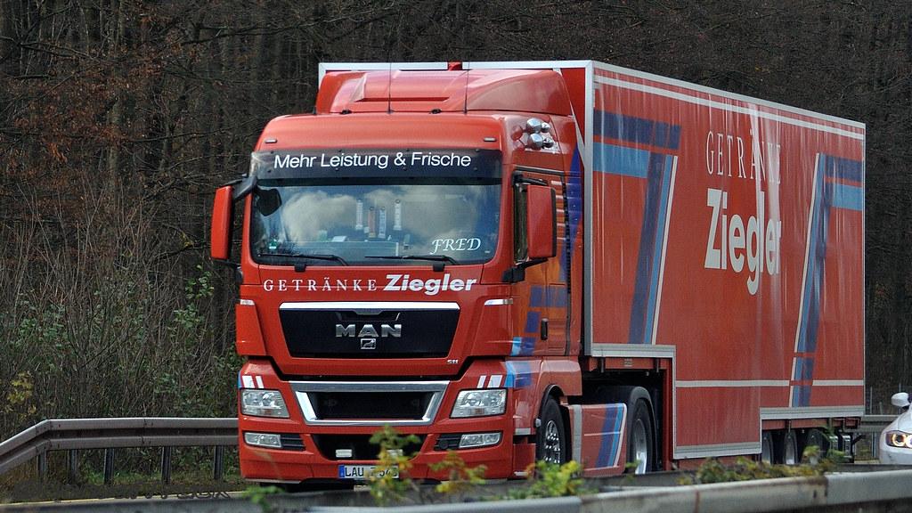D - Getränke Ziegler MAN TGX XLX   BonsaiTruck   Flickr
