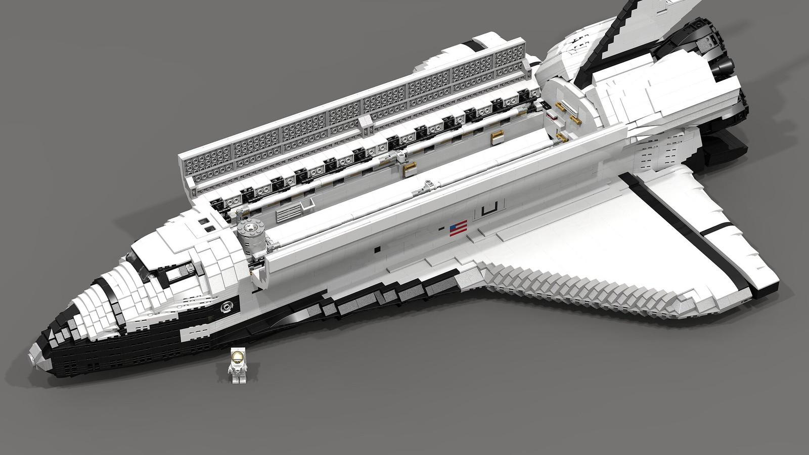 space shuttle lego moc - photo #23