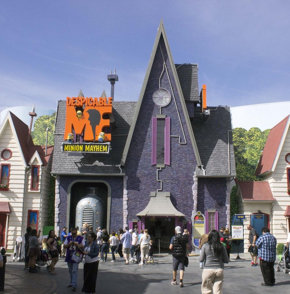 Despicable Me Minion Mayhem At Universal Studios Hollywoo