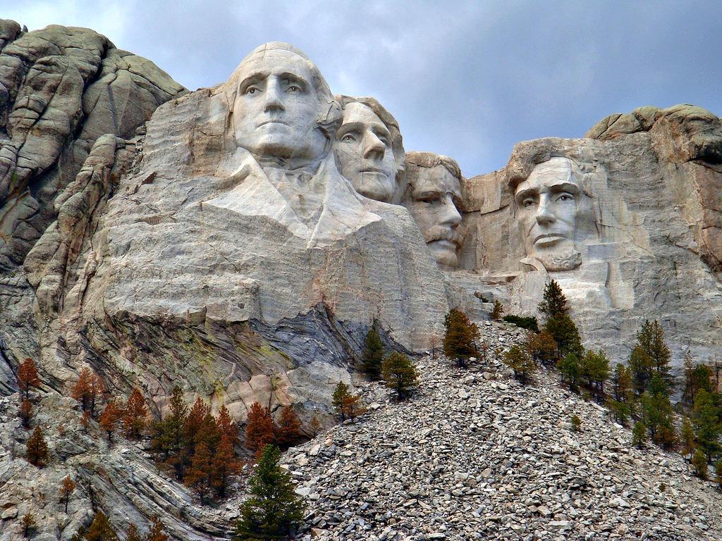 Mount Rushmore National Memorial The Monumental Granite
