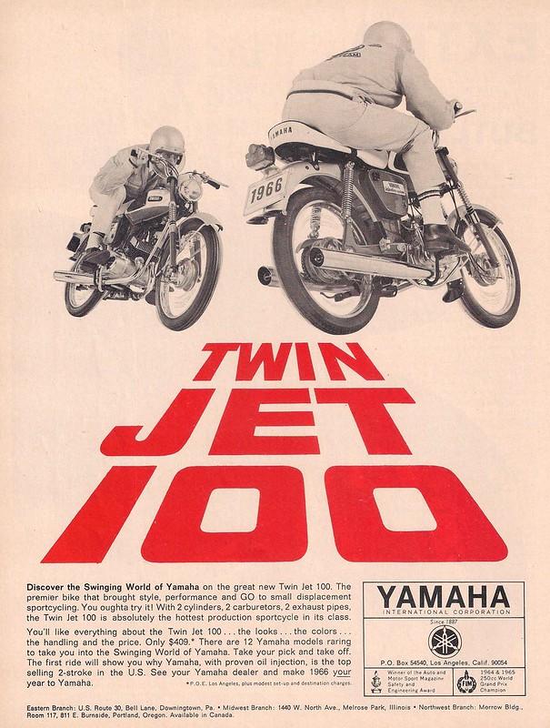Yamaha YL1 Twin Jet