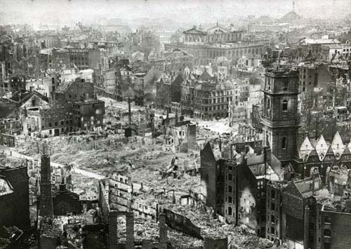 Hannover 1945. Aegidienkirche
