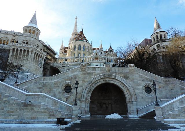 Fisherman's Bastion, Budapest, Hungary