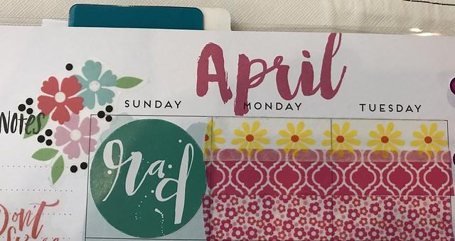 April Left