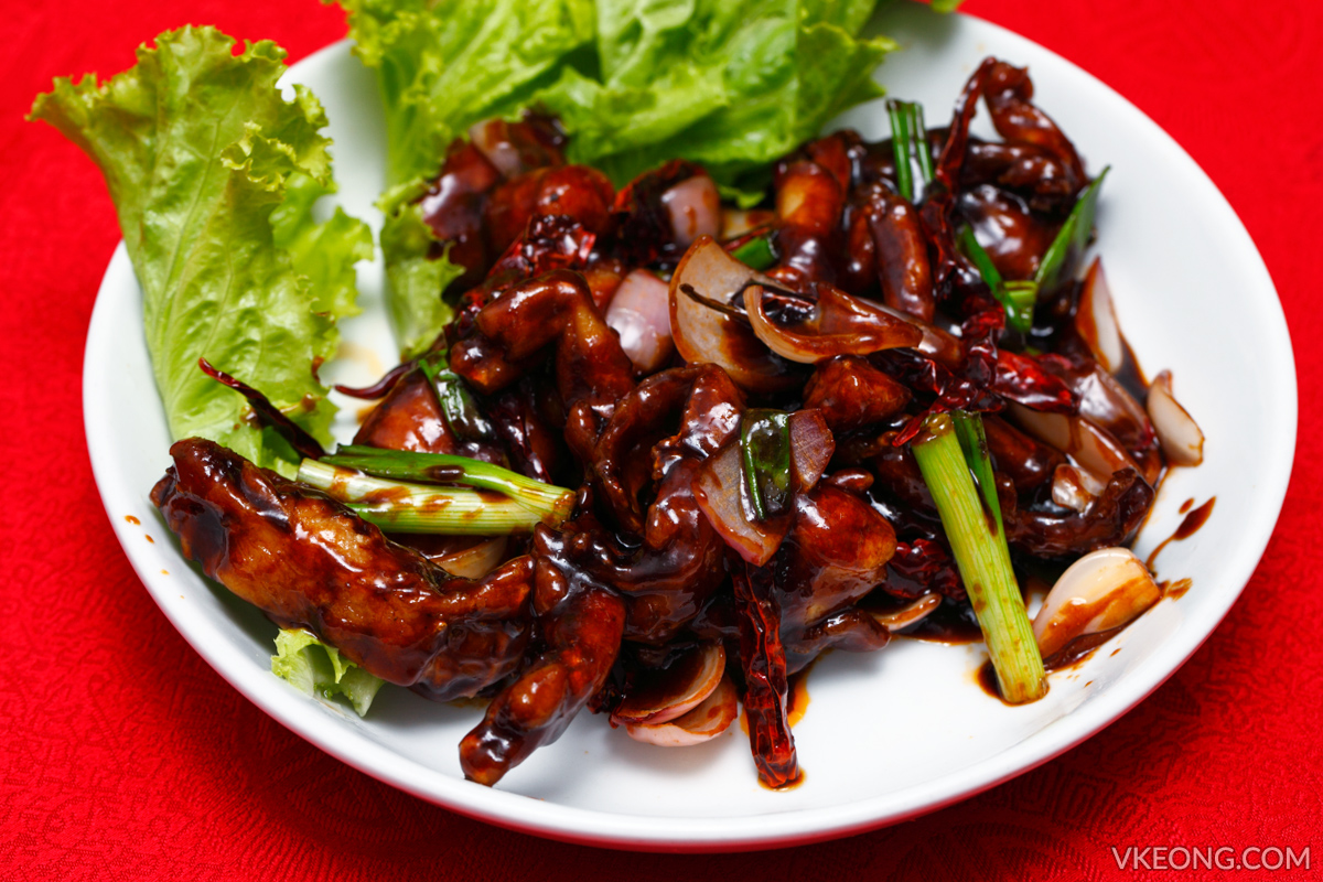 Kung Pao Frog Legs