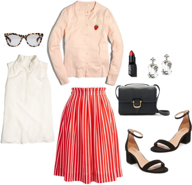 What I Wish I Wore, Vol. 179 - Strawberry Fields | Style On Target blog