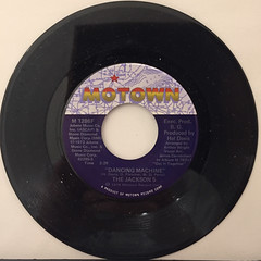THE JACKSON 5:DANCING MACHINE(RECORD SIDE-A)