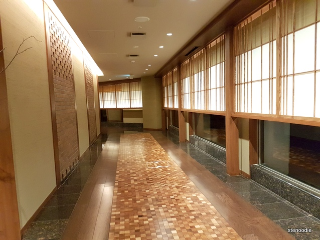 Daiichi Hotel hallway