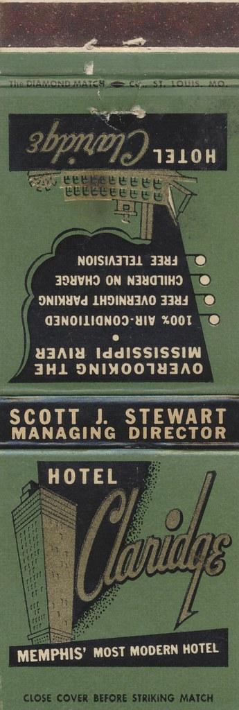 Hotel Claridge - Memphis, Tennessee