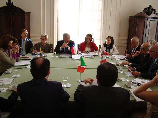 Reunión Ministerial #AP junto a #Mercosur