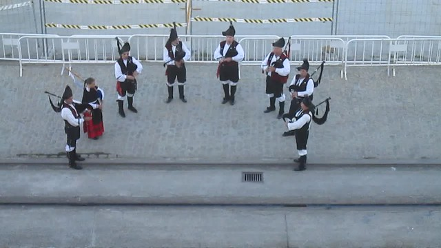 Pipers, Ferrol, Galicia, Spain