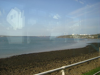 Milford Haven from the bus at Neyland