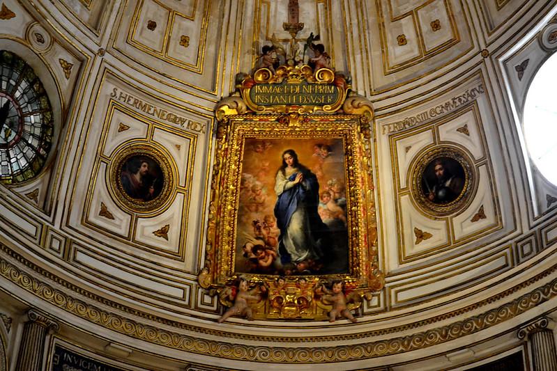 Inmaculada de Murillo en la Sala Capitular