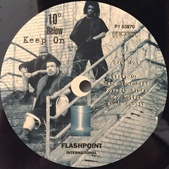 10 BELOW:KEEP ON(LABEL SIDE-A)