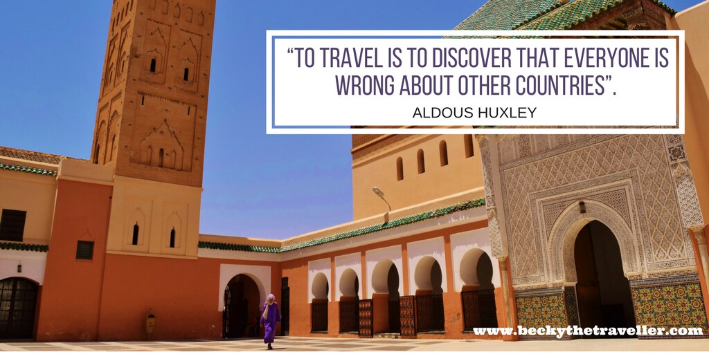 Travel quotes - To travel is to discover that everyone is wrong about other countries