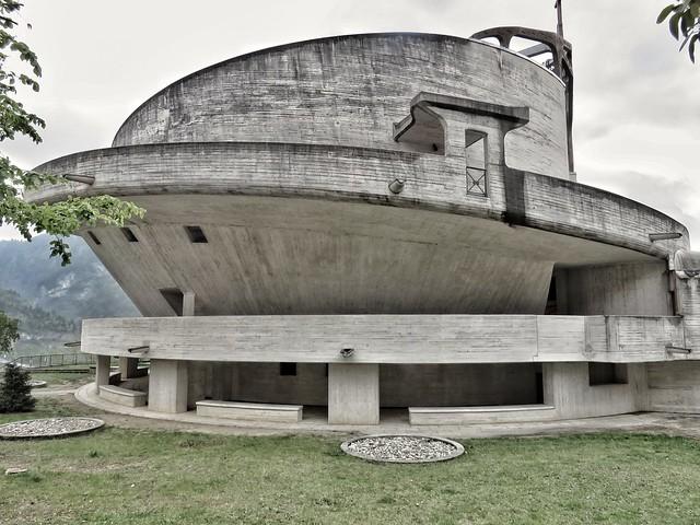 Longarone, la Chisa monumentale di Santa Maria Immacolata