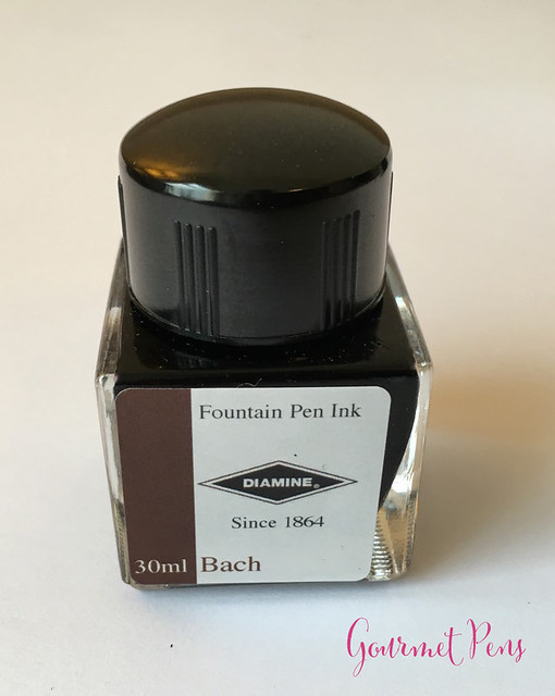 Ink Shot Review Diamine Music Bach @AppelboomLaren 8