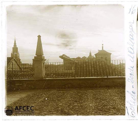 Vista desde el Alcázar en abril de 1917. Fotografía de Francesc Blasi i Vallespinosa   © Centre Excursionista de Catalunya