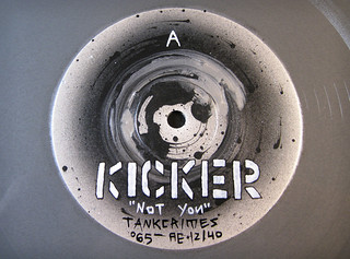 KickerVinylDetail_BWsm | by Mike Sutfin