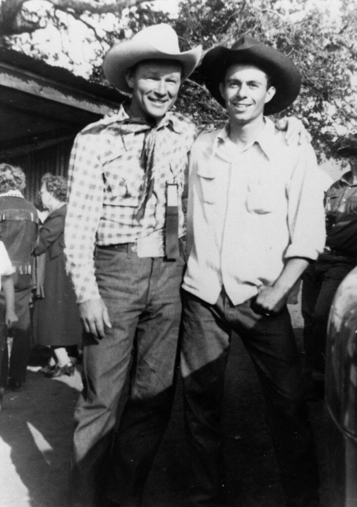 roy rogers and carl quotalfalfaquot switzer roy rogers and
