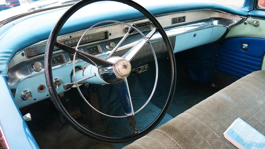 1956 Buick Roadmaster 4-Door Riviera Hardtop / Interior ...