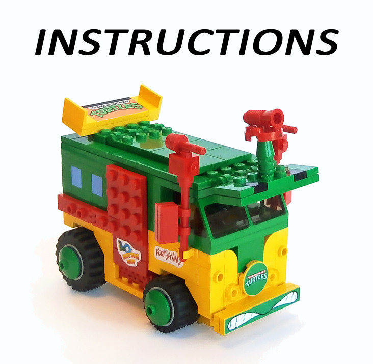 Lego Instructions For The Turtle Party Wagon Some People H Flickr