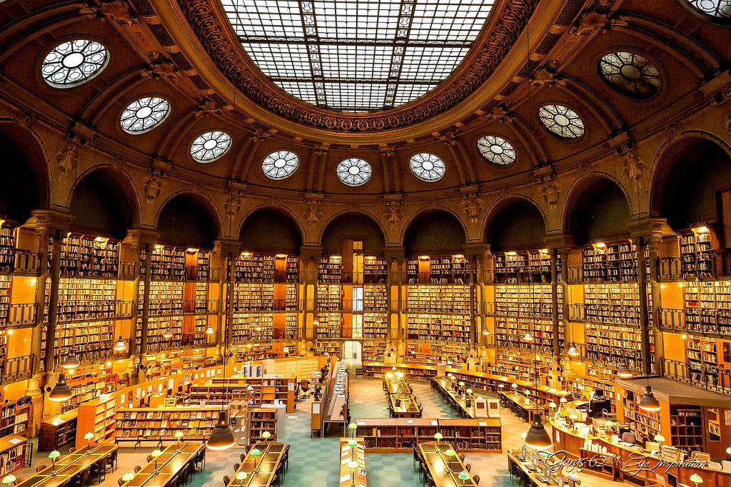 biblioth u00e8que nationale de france salle richelieu paris