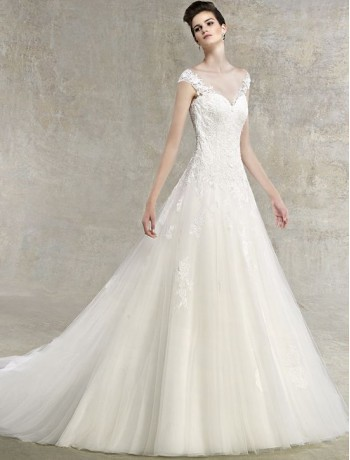wedding dress colors