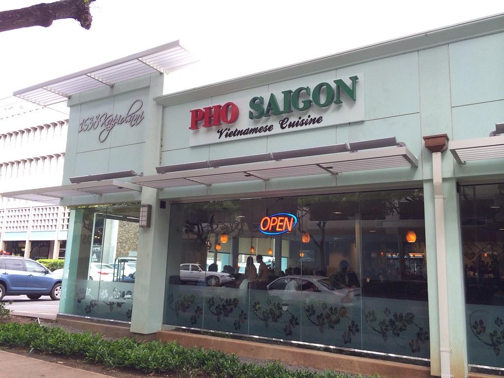 Menu For Saigon Cafe