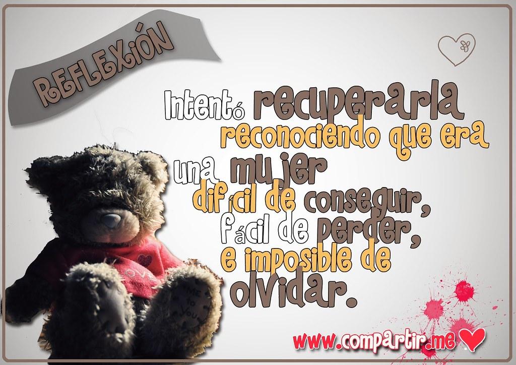 Frases De Amor Tarjeta De Reflexion Con Frase De Imposibl Flickr