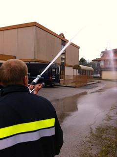 Prove pratiche di spegnimento con idrante UNI70