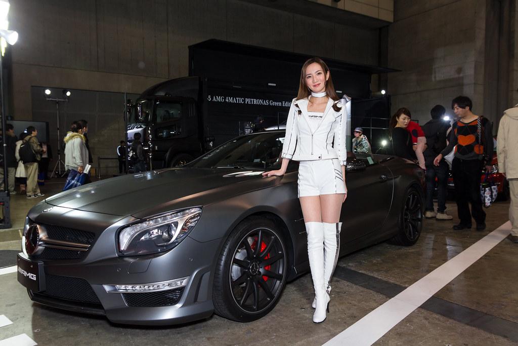 Mercedes Benz Amg Smart Tokyo Auto Salon 2014 Show Girl
