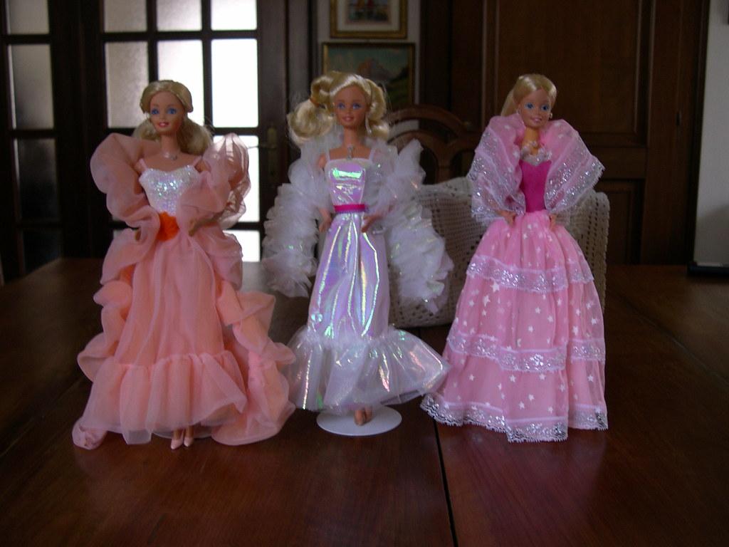 Barbie Fiori Di Pesco Barbie Crystal Barbie Luci Di Stelle