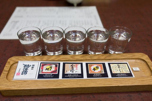 吉乃川酒造見学