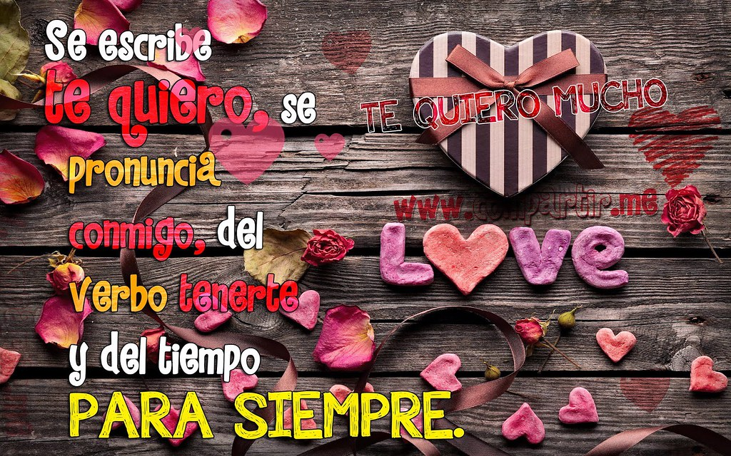 Frases De Amor Hermosa Tarjeta En Hd Con Frase De Amor Pa Flickr