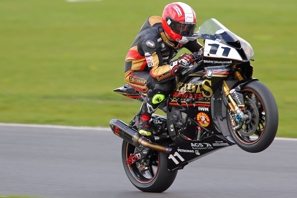 11 Michael Rutter Bathams Bmw Snetterton Bsb Test Flickr