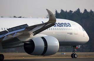 Airbus A350-941 D-AIXA Lufthansa